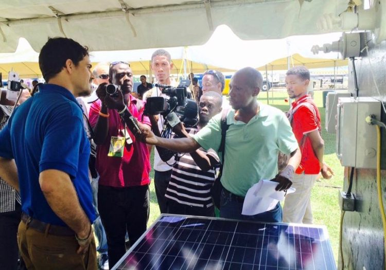 Sigora's Pre-Pay Smart Meters are a hit at AmCham Energy Fair