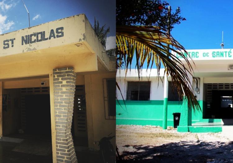 The Mole-Saint-Nicolas Health Clinic – Then And Now